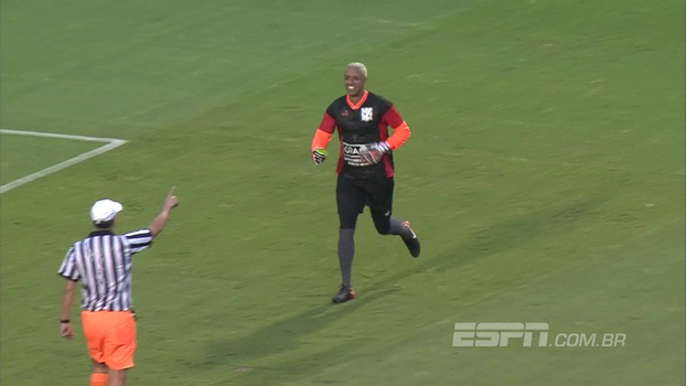 GRAACC Futebol Clube: Sálvio invalida gol, e Sidão dá cartão amarelo para o bandeira