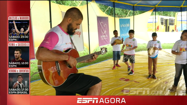 Morador da Brasilândia é a estrela deste episódio da Caravana do Esporte