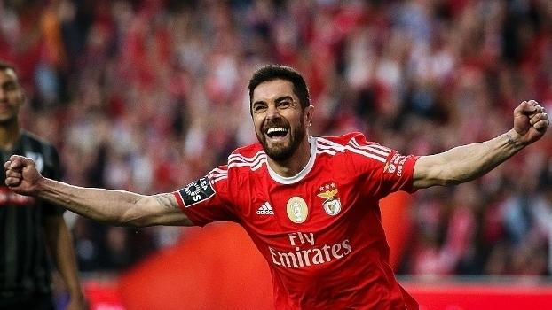 Assista ao gol da vitória do Benfica sobre o Vitória de Guimarães
