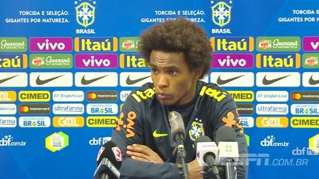 Willian e Rodriguinho falam sobre expectativa para clássico contra Argentina