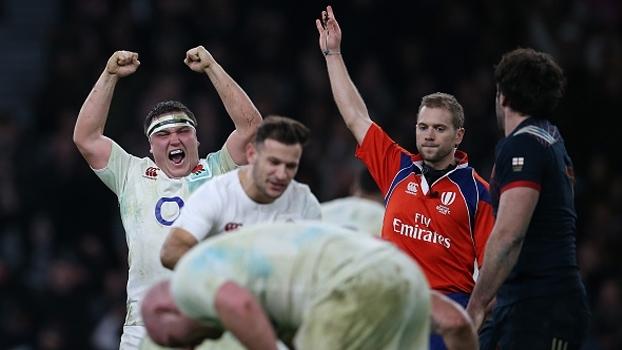 Inglaterra vence França em estreia disputada no 6 Nations de rugby