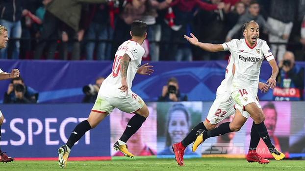 Sevilla busca empate incrível com o Liverpool e deixa grupo em aberto