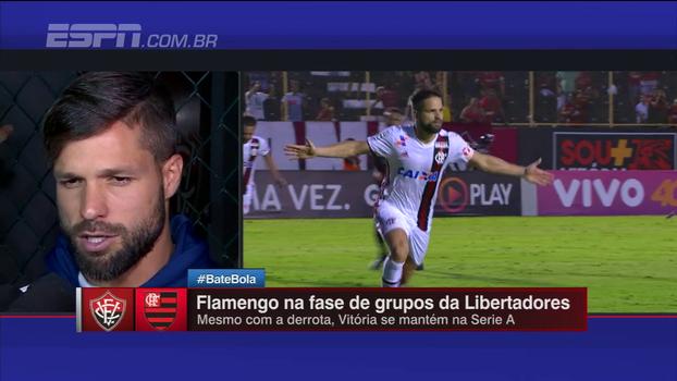Diego destaca esforço em maratona de jogos pelo Flamengo desde que voltou da seleção: 'Fui além do meu limite'