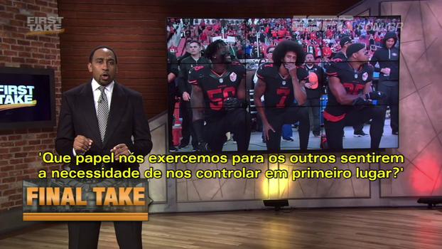 Comentarista da ESPN analisa situação dos atletas negros nos EUA: 'São negócios, é hora de acordar'