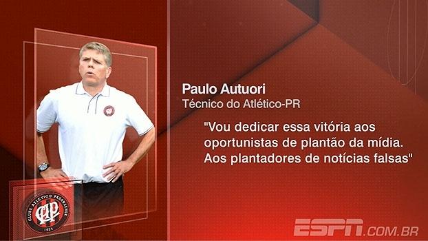 Bertozzi avalia fala de Autuori: 'O Petraglia acredita no processo, o técnico não estava para cair'