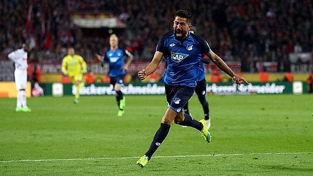 Filho de brasileiros marca, mas Hoffenheim busca empate com Colônia e dorme em 3º
