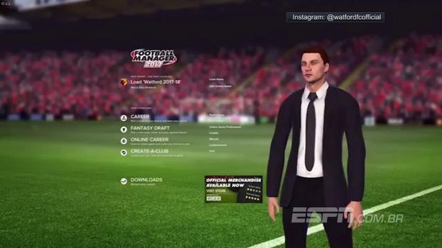 Watford inova e usa jogo 'Football Manager' para apresentar reforço