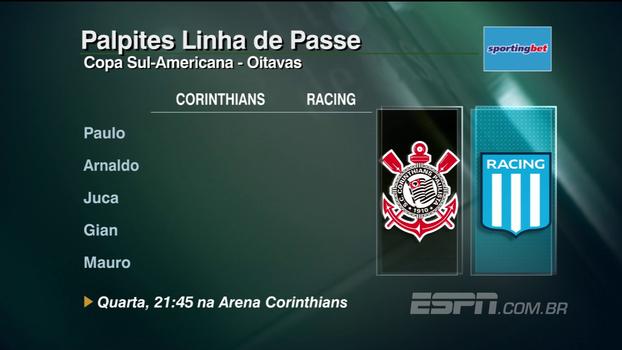 Assista aos palpites do 'Linha de Passe' para os jogos da Copa Sul-Americana
