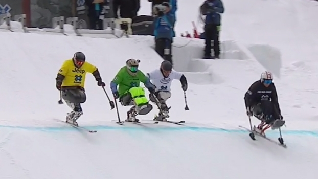 Jerome Elbrycht é ouro no Mono Skier X adaptado