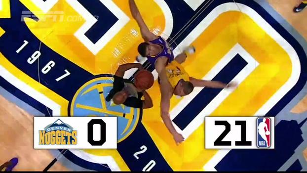 É festa em Denver! Após 25 jogos 'na seca', Nuggets finalmente vencem o 'tapinha inicial'