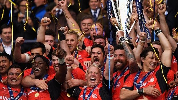 Saracens vencem Clermont e são campeões do Europeu de rugby