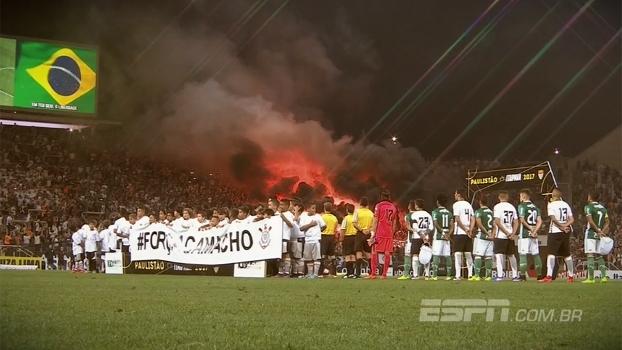 O clássico com um pouco de tudo: a história da vitória do Corinthians sobre o Palmeiras