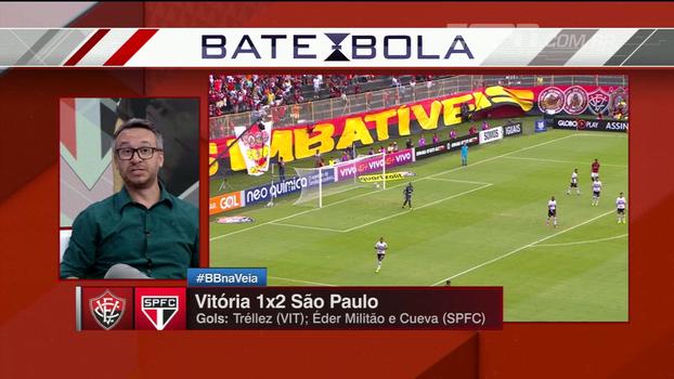 Maurício Barros elogia defesa do São Paulo e diz que time não correu grandes riscos contra o Vitória