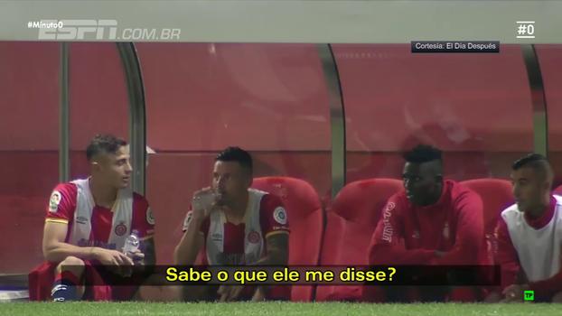 Jogador do Girona que marcou Messi 'mano a mano' conta o que argentino lhe disse: 'É uma m...'