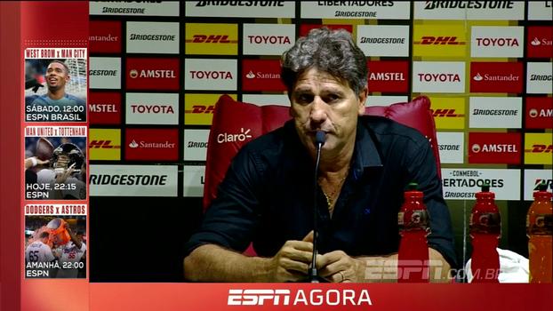 Após vitória, Renato Gaúcho exalta defesa de Grohe e avalia: 'Grêmio foi mortal'