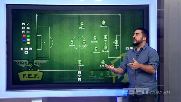 Seleção de Tite terá 4-1-4-1 como sistema padrão? Renato Rodrigues analisa