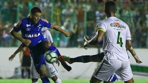 Copa do Brasil: Gols de Murici 0 x 2 Cruzeiro