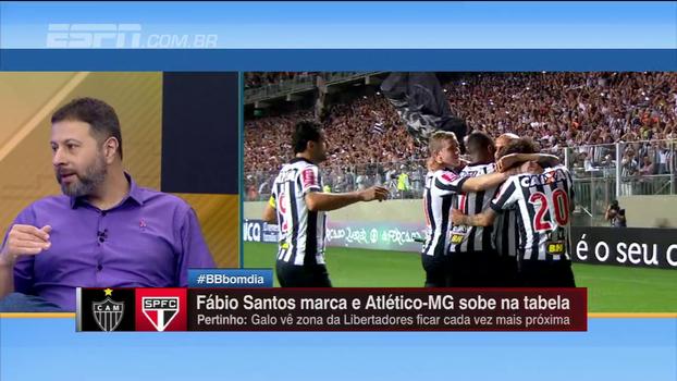 Marra elogia posicionamento e físico dos volantes do Atlético-MG: 'Os dois ganharam o jogo'