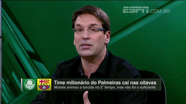 Arnaldo analisa tamanho da eliminação do Palmeiras e fala em 'reformulação iminente a caminho'