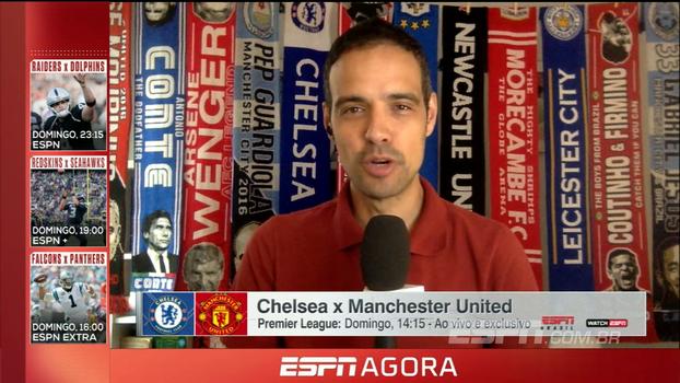 Conte pressionado e Mourinho 'retranqueiro': João Castelo Branco traz as informações de Chelsea x United