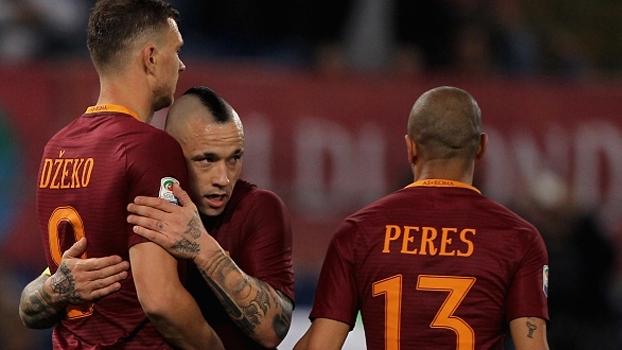 Italiano: Gols de Roma 2 x 0 Empoli