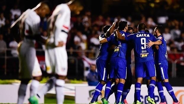 Copa do Brasil: Gols de São Paulo 0 x 2 Cruzeiro