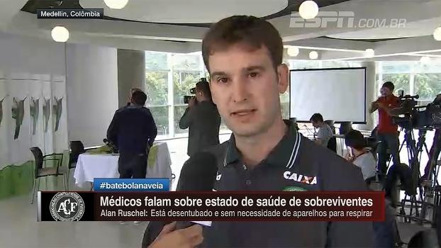 Médico da Chape elogia hospital colombiano e vê sobreviventes como milagres
