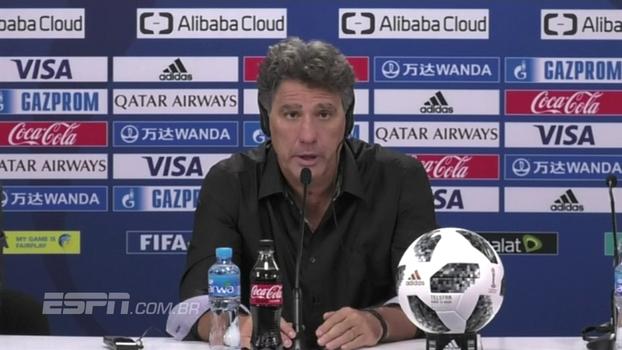 Renato Gaúcho diz que Real mereceu ganhar e admite: 'Estamos muito tristes, mas de cabeça erguida'