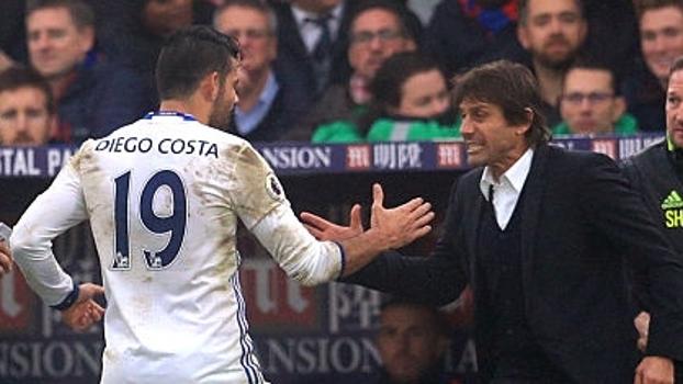 Com gol de Diego Costa, Chelsea vence 11ª seguida