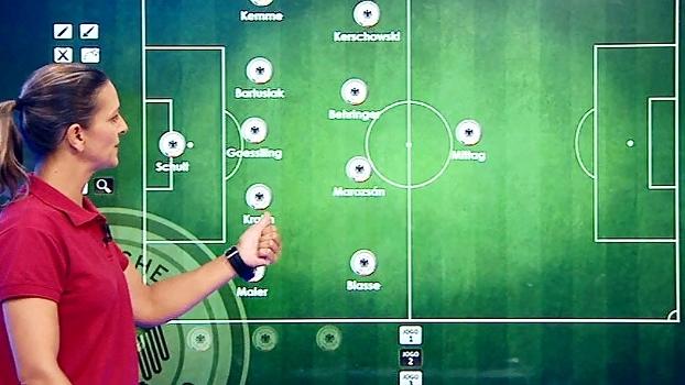 Ju Cabral analisa a seleção de futebol feminino da Alemanha e avisa: 'Vai brigar por ouro no Rio'