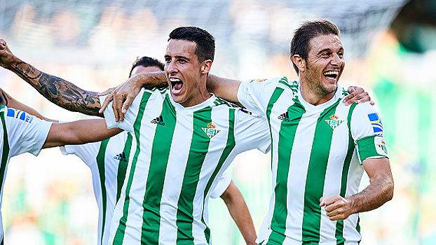 Assista aos gols da vitória do Real Betis sobre o Deportivo La Coruña por 2 a 1!