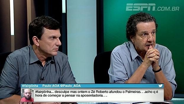 Juca acredita em classificação do Palmeiras, mas analisa derrota: 'Lembrei de Brasil x Alemanha'