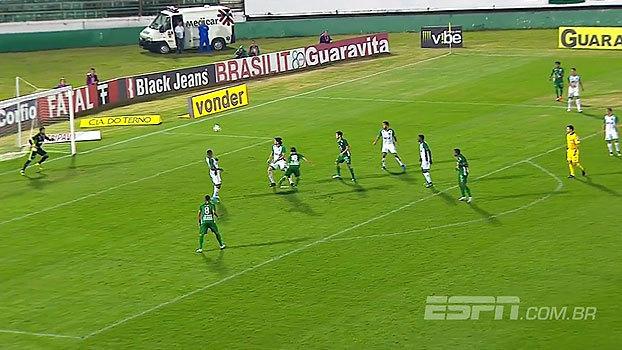 Série B: Gol de Guarani 1 x 0 Goiás