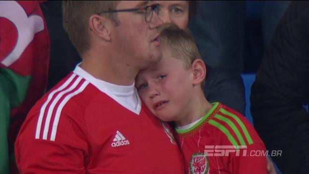 Do choro do garoto galês ao delírio da classificação do Egito e da Islândia: as emoções da reta final das eliminatórias