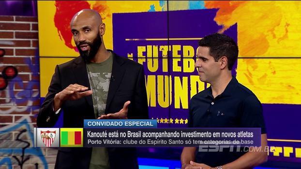 No Futebol no Mundo, Kanouté explica projeto para ajudar jovens na África e com parceria de clube brasileiro