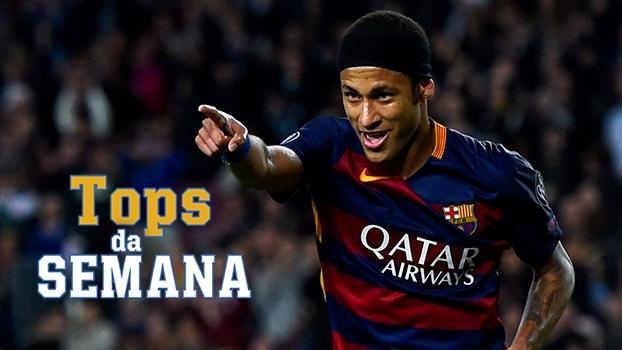 Neymar extraordinário, atuação brilhante de Douglas Costa, e goleiro de 16 anos do Milan no Tops da Semana