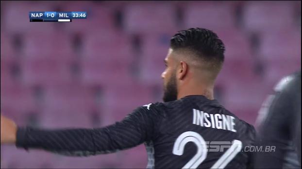 Assista aos melhores momentos de Napoli 2 x 1 Milan