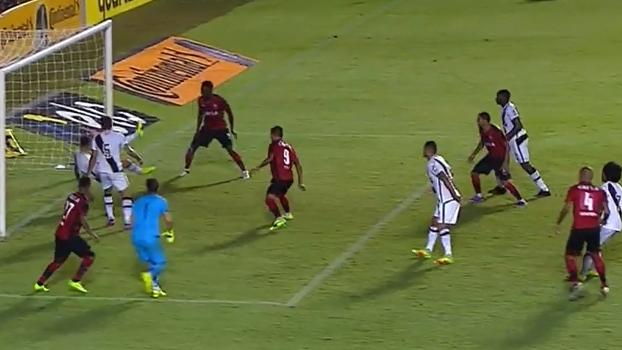 Copa do Brasil: Gol de Vitória 1 x 0 Vasco
