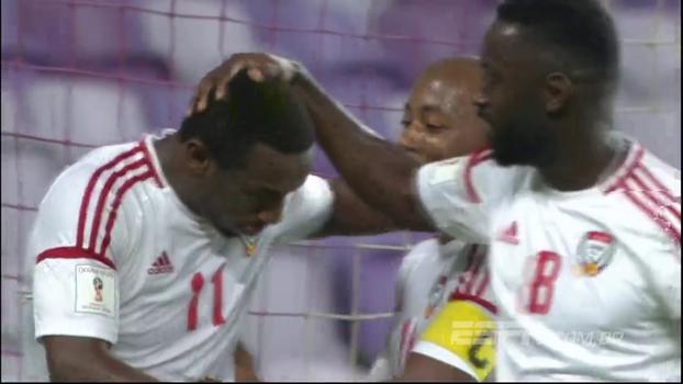 Eliminatórias Asiáticas: Gols de Emirados Árabes 2 x 1 Arábia Saudita