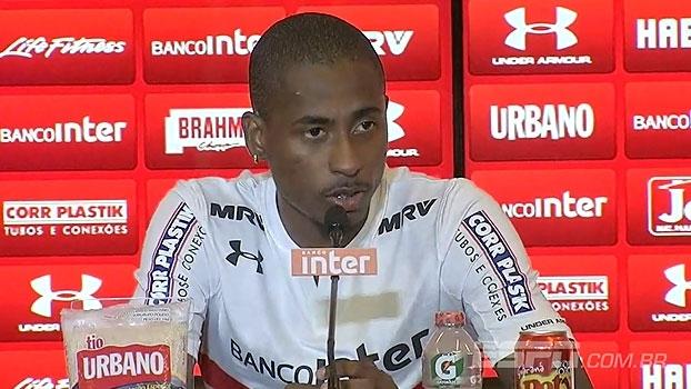 Denilson se vê versátil e escolhe preferência para atuar no São Paulo