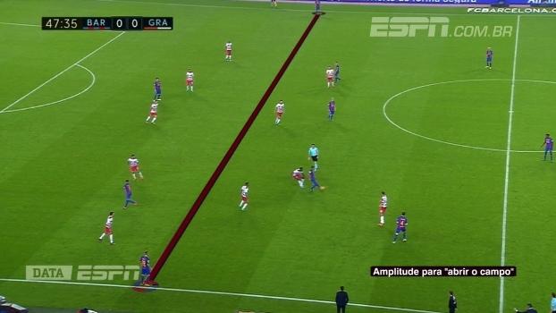 Com auxílio do DataESPN, Calçade destrincha momento ofensivo do Barcelona
