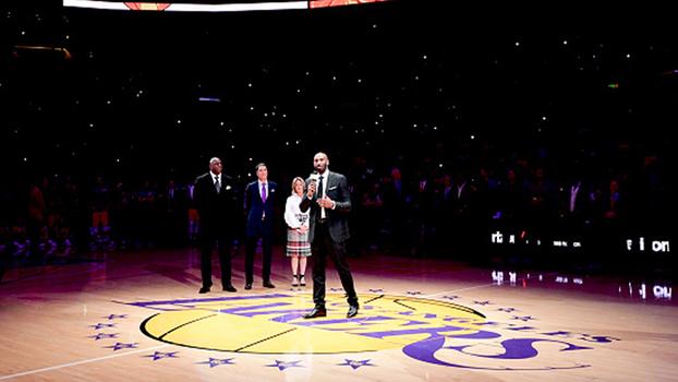 Ídolos, fãs e a vontade de conquistar um sonho: veja o emocionante discurso de Kobe Bryant