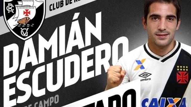 Entenda como o Vasco contratou o argentino Escudero, ex-Vitória