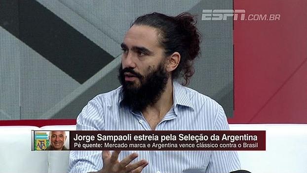 Para Sorín, vontade de Sampaoli é importante para sucesso na seleção: 'É o torcedor nº 1 da Argentina'