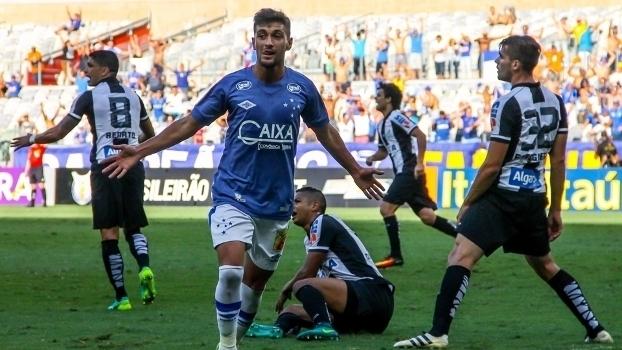 Brasileiro: Gols de Cruzeiro 2 x 2 Santos