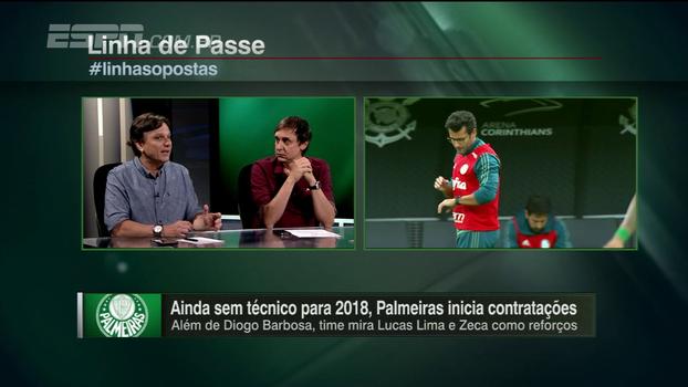 Mauro fala sobre a escolha de técnico do Palmeiras e dos reforços que hoje estão nos planos