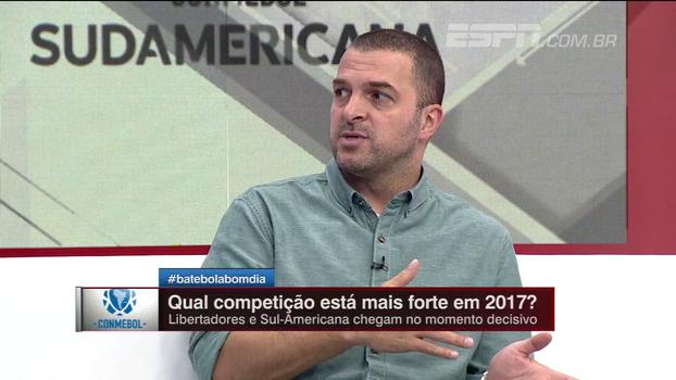 Zé Elias vê Sul-Americana se valorizando: 'Clubes aqui no Brasil a descartavam'