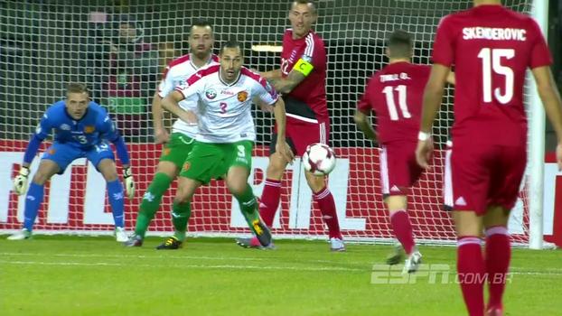 Assista aos lances do empate entre Luxemburgo e Bulgária por 1 a 1!