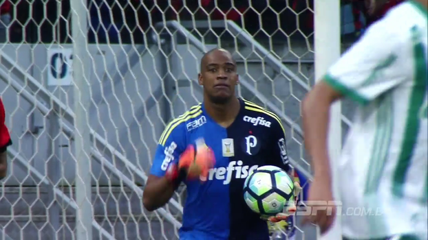 Veja como foi a vitória do Palmeiras contra o Sport