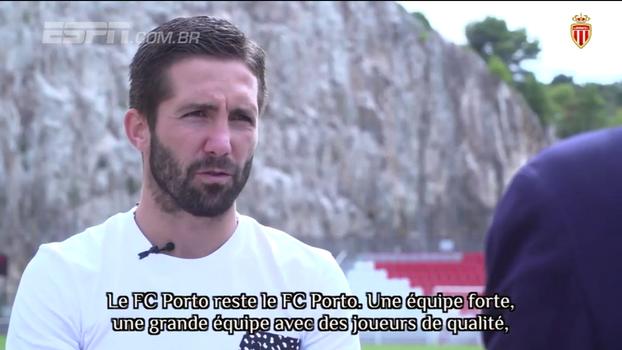 João Moutinho demonstra carinho pelo Porto: 'Quero que ganhe todos os jogos, menos contra o Monaco'